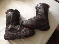 Salomon Synapse snowboard boots size 8uk