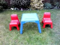 Kids Table & Chairs (Early Learning)