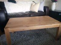 John Lewis wood coffee table