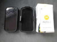 Motorola Moto E Android 2nd Generation 4G Wifi Unlocked Smartphone Inc. Case & SD Card