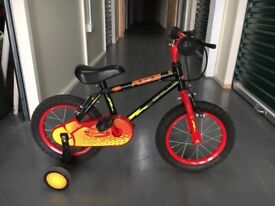 Red boys bike age 3