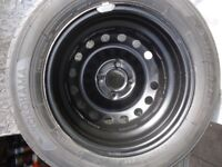 1 x 175/65/14 Renault Clio Spare Wheels PCD 4 x 100 (ALMOST NEW)