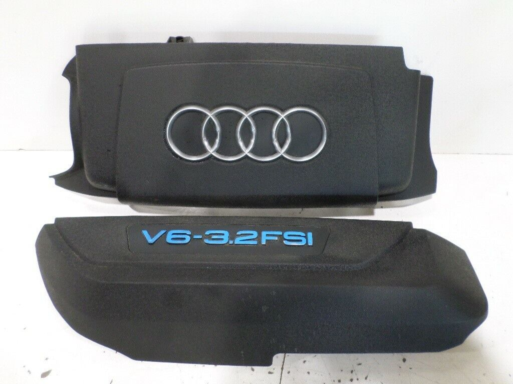 AUDI OEM 05-08 A6 Quattro Engine Appearance Cover-Rear Cover 06E103926D