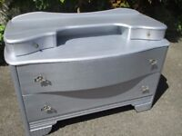 Chest of drawers / Dressing Table / Art Deco