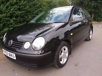 VW POLO 91K miles only 2 prev Owners with 12 Months MOT and 100% HPI Clear certificate