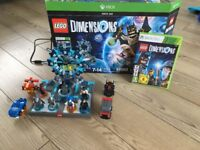 Lego dimensions starter pack plus extras Xbox 360