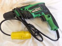 Hitachi FDV16VB2 110 Volt Rotary Impact Drill 13mm Keyless 550 Watt