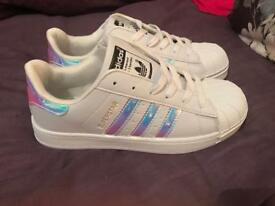 LADIES ADDIDAS TRAINERS SIZE 6