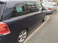 perfect zafira 1,8 + LPG fully serviced