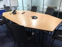 Board room table and chairs Free