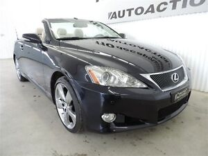 Lexus Is250c navigation gps, cuir tan, impeccable !! 2010