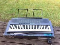 Yamaha Keyboard, Stand, & Case