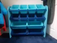 Bin tilt Childrens toy storage