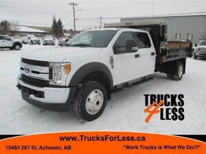 2017 Ford F-550 XLT 4X4, DUMP TRUCK, NEW RIG UP