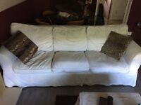 Two three seater couches FREE collection only