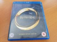 *** Bluray Movie: The Lord of the Rings: The Return of the King (2 Discs) ***