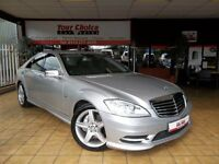 FACELIFT 2009 59 MERCEDES S350 CDI BlueEFFICIENCY ~FULL AMG SPORTS PACK~FMBSH~LOW MILEAGE~TOP SPEC~