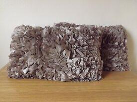2 Brown Pillows/ Cushions