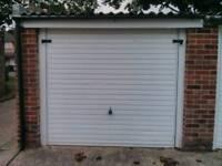 Single secure dry garage