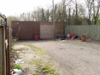 TO LET – WORKSHOP AND YARD , situated in a rural location close to the M4 motorway near Maidenhead.