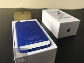 iPhone 5S 16GB Sapphire Blue Limited Edition New Unlocked