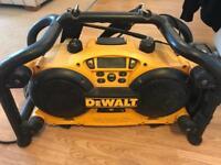 DeWalt site radio charger