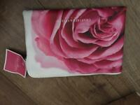 Crabtree and Evelyn cosmetics make up bag