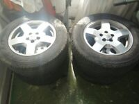 Land Rover Discovery 3 Wheels & Tyres Set