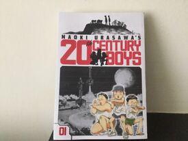 20th Century Boys ,paperback book.