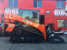 5 TONNE TRACKED SKID STEER LOADER DRY HIRE - 4 IN 1 BUCKET Belmore Canterbury Area Preview
