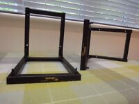 One pair of Target wall mounting speaker stands