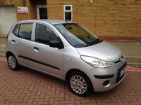CHEAPEST HYUNDAI I10 2009. 1.2 PETROL. ONLY 8300 MILES. 20 POUND ROAD TAX. SUPERB DRIVE. BARGAIN