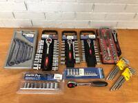 Clarke Pro Tools - Socket sets, spanners etc - Various