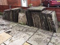 concrete paving 50 number 2ft by 2.6ft paving slabs