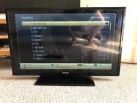 Hatachi smart tv32 inch. YouTube Netflix built in. One year old.