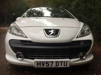 Peugeot 207 Diesel 1.6 Sports TD Estate 2007-46000 Miles-One Family Owned