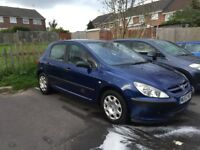 Peugeot 307 2.0 hdi 90 New clutch and cambelt! Low mileage for age!