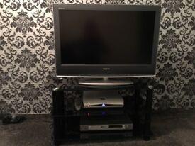 £80 tv, tv stand cofee table