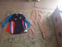 bundle of boys clothes aged 8-9 for sale