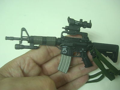 """1/6 Scale Hot toys USSOCOM UDT M4 commando / ACOG Scope for 12"""" figure, used for sale  Shipping to United States"""