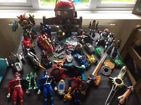 Power rangers massive bundle. Please see all pictures!