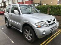 2003 SWB Shogun Warior 3.5 GDi Automatic, Petrol, 3 door aircon 4x4 AWD Engine requires attention
