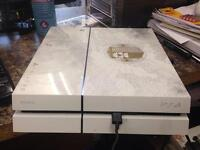 Sony ps4 white only - no controller -with 2 month warranty