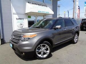 2013 Ford Explorer Limited 4WD, Nav, Moonroof, Leather