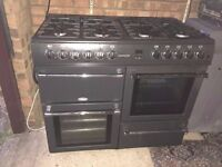 Countrychef 100DF 100cm Dual Fuel Range Cooker