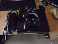 Good condition with 2 controllers & kinect bar