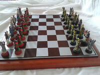 The Bright Host Fantasy Chess Set
