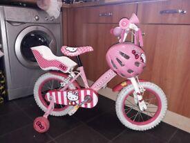 ****Hello kitty bike for sale £30 ono****