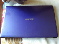 purple asds laptop