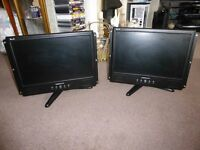 Pair HANNspree Monitors - All working